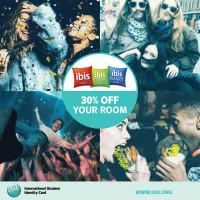 ISIC Card discount globally
